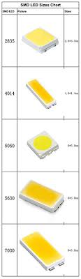 Smd Led Chart The Difference Between 2835 3528 5050 5630 Etc Shenzhen