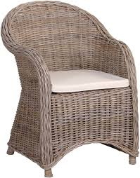 wicker garden armchair image 2 previous next to enlarge