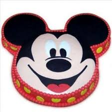 mickey mouse theme cake at