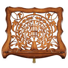 fretwork furniture. Jonathan Charles Furniture Adjustable Wooden Music Stand With Fretwork