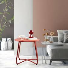 patio side table outdoor small round