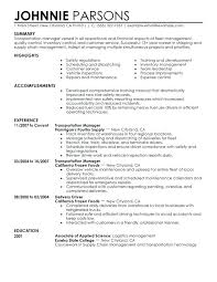 Logistics Management Resume Medical Logistic Manager Resume Dew Drops