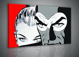 Arredamento Vintage Pop Art : Pop art design a fumetti collection on