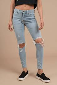 High Waisted Light Wash Skinny Jeans Aline High Rise Skinny Jeans