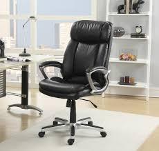 black leather office design in classy design 100x100 modern office chairs classy design with leather material black leather office design