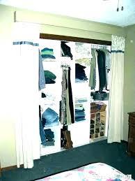 closet curtain ideas hallway closet ideas open closet idea open closet behind bed closet behind bed