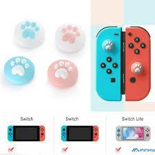 Nắp Nút Bấm Hình Móng Mèo Cho Máy Chơi Game Nintendo Switch Lite, Giá tháng  11/2020