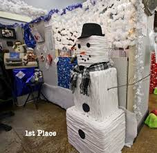 office cubicle christmas decorations. Interesting Decorations Office Holiday Decorating Ideas Get Smart WorkSpaces Within Cubicle  Christmas Decorations Astonishing 18 In O