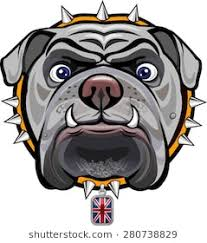 mean bulldog wallpaper. Exellent Mean English Bulldog And British Flag In Mean Wallpaper