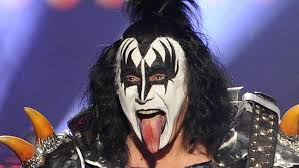 gene simmons kiss hair. los angeles, ca - may 21: musician gene simmons of kiss performs onstage during kiss hair