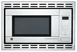 ge microwaves built in cu ft built in microwave oven in stainless steel the home depot