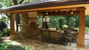 Modern Water Well Design Exteriors Contemporary Outdoor Living Room With Rustic