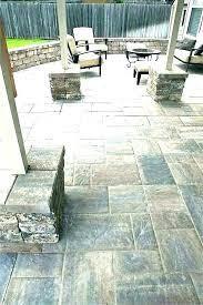 home depot outdoor patio tile patio