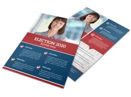 Handbill Template Campaign Informational Flyer Template