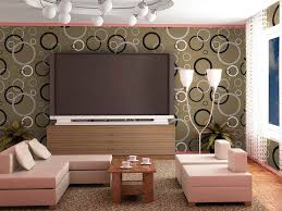 Wallpaper Living Room For Decorating Pictures Of Wallpaper For Living Room Modern Inspiration Neutral
