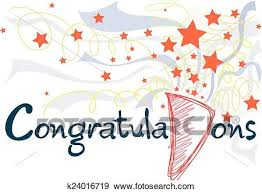 Congratulations Card Clip Art