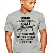 Usmc 0331 Usmc Infantry T Shirt 0331 Machine Gunner Semper Fi Do Or