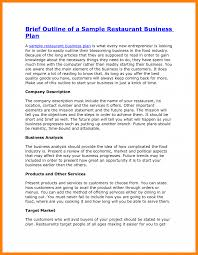Business Plan Restaurant Pdf Example Of Memo For 0 A Fast Food