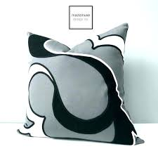 white outdoor pillows black and white striped outdoor cushions gray pillows grey pillow cover decorative by