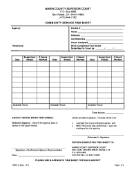 community service verification form for court 20 community service hours form fill online printable fillable