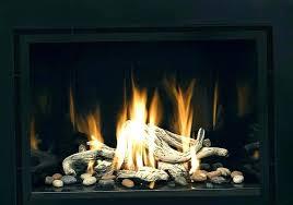 fireplace rocks gas home depot glass canada