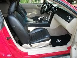 black seats with charcol gray interior