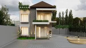 Jika anggota keluarga anda belum terlalu banyak maka rumah minimalis 1 lantai adalah pilihan terbaik. Denah Dan Konsep Rumah Kecil Minimalis 2 Lantai Interiordesign Id