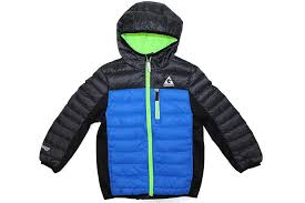 Gerry Size Chart Gerry Boys Size Large 14 16 Hooded Puffer Down Jacket Sky