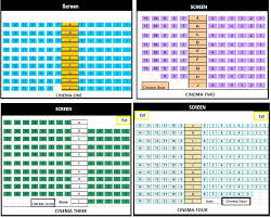 Cinema Seating Map Metro Cinemas Boronia