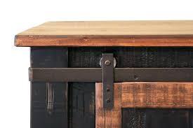 barn door console table ana white plans diy barn door console table