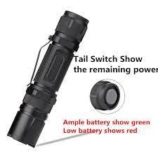 Satılık! Xml-l2 3 Modu El Feneri Torch Işık Lanterna Su Geçirmez Taktik Güç  Görüntüleme Fonksiyonu İle 18650 El Feneri Led < LED Aydınlatma ~  Ww6.HizliPremium.org