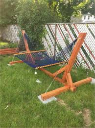 pvc hammock stand diy kit awesome modern swing chair house ideas and furniture of