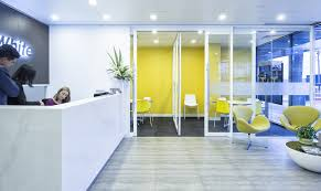 white office interior. Office Fit Otu Visioning White Interior