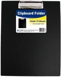 C Line Bulk Buy Clipboard Folder Black 3 Amazon Com