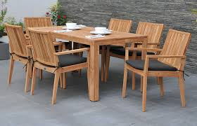 6 seater garden dining set patio