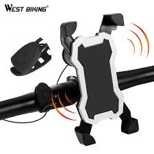 2019 <b>WEST BIKING</b> Bike Phone Holder With Bell Horn <b>5 Modes</b> 3.5 ...