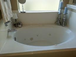 cleaning garden tub with jets