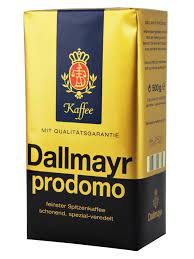 More buying choices $19.99 (6 new offers) dallmayr crema d'oro whole beans coffee 2 packs x 17.6oz/500g (pack of 2) Dallmayr Prodomo Genuine German Ground Coffee 500gr