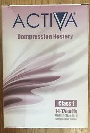 Activa Compression Socks Size Chart Activa Class 1 Compression Socks Below Knee Compression
