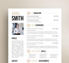 Customized Resume Design Microsoft Word Template Door