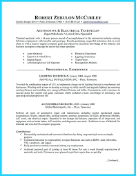 Technical Resume Objective Examples Maintenance Resume Objective Examples 88
