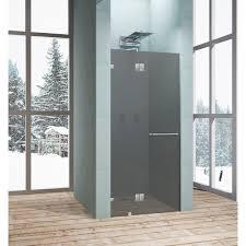 <b>Душевая дверь</b> «Классика» тонированная распашная 120x195 <b>см</b>