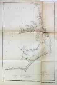 Pamlico And Albemarle Sound North Carolina Triangulation