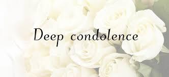 condolences के लिए इमेज परिणाम