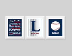 set of three wall art inspirational baseball wall art set of 3 baseball nursery by