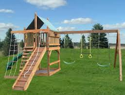 wooden swing set plans playset junction inside designs inspirations 5