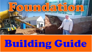 How to Build a Foundation from Start to Finish - YouTube