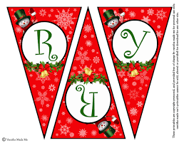 printable christmas banners happy holidays printable christmas banners 12