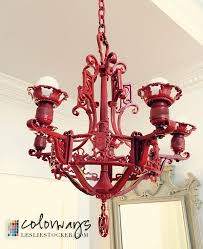here are some more posts that feature lighting ideas and tutorials chalk painting a brass chandelier