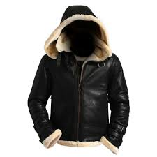 b3 black hood er jacket